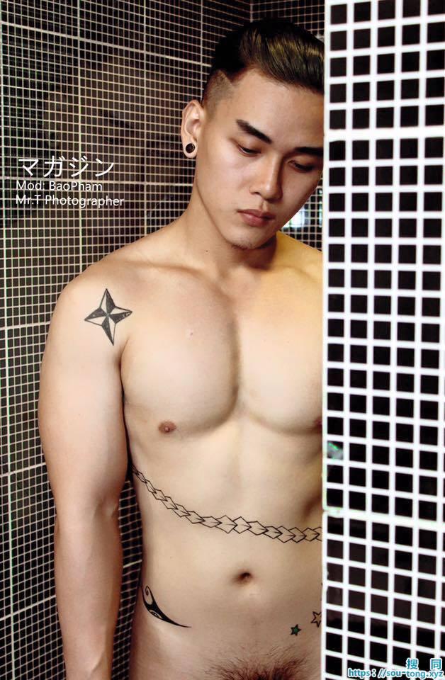 越南帅哥裸体秀身材