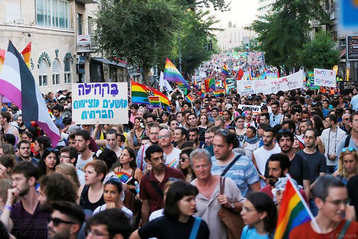 第16届耶路撒冷LGBT骄傲巡游