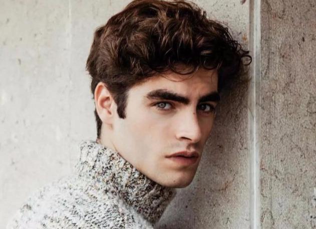比利时最帅男模,他的眉毛真的太美了,让人眼睛无法离开!