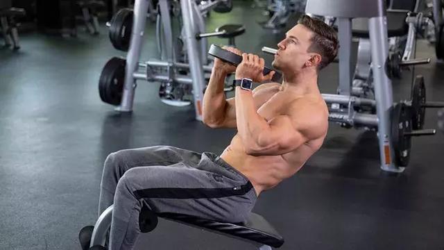 我要锻炼核心肌肉群,听着很犀利的样子!