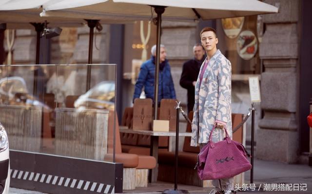 有一种女朋友喜欢的风格,叫做陈伟霆的穿搭,潮男不踩雷
