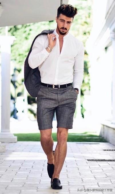 """男人长袖短裤椰子鞋丑?从""""被吐槽""""到""""被夸赞""""只差这三招"""