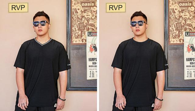 黑色T恤没选对,不但不显瘦反而会显胖