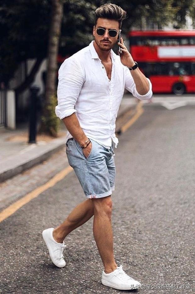 夏天男士衬衫怎么穿?3个技巧教你穿出闷骚范儿