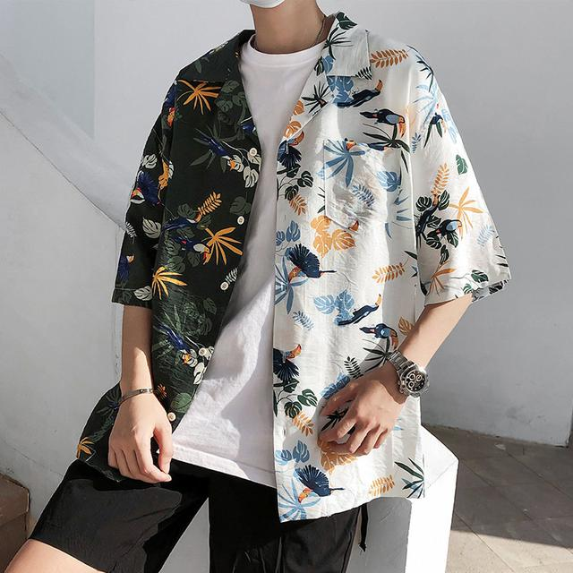 夏天不应只有t恤,这三件衬衫更有范儿