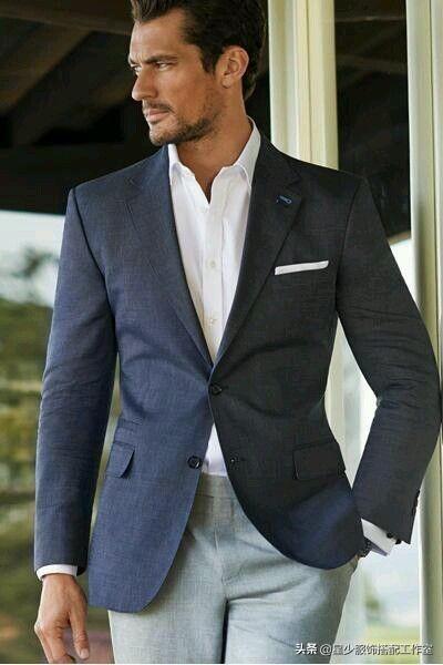 男人最百搭的款式原来是西装?一套西装=七天不重样