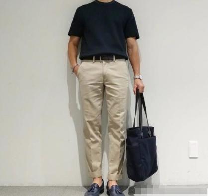 男生穿搭|非常的简单又实用,看看这几款基础款,清爽自然