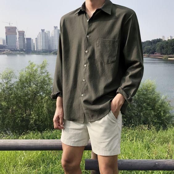 男生这么穿好感度倍增!14套简单干净的穿搭,做个会穿搭的男神吧