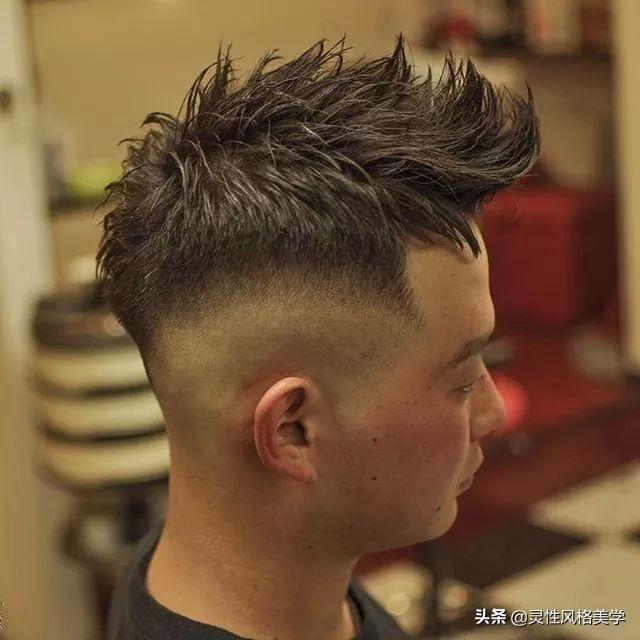 """三面光""""男士发型,型男呀"""